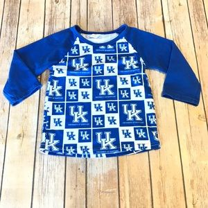 Other - UK Wildcats Boys Long Sleeve Raglan Tee